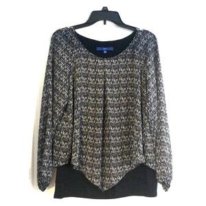 Women's Apt 9 flowy blouse